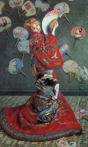 1875-claude-monet-madame-monet-in-a-japanese-costume